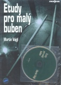 Etudy pro malý buben + CD - Vajgl Martin