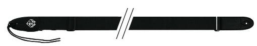 Fire&Stone 530810 - kytarový popruh černý látkový